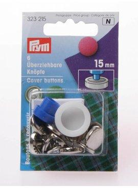 Prym Overtrekbare Knopen - 15 mm