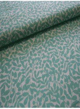 Cloud 9 6€ p/m - Branch Green - Bedrukte Katoen