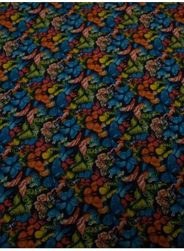 POPPY 5€ p/m - Butterfly Belle - Bedrukte Katoen