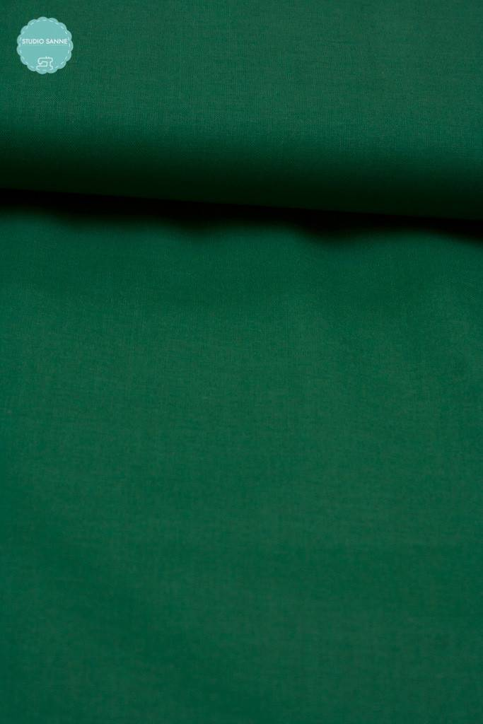 6,50 Euro Per Meter - Groen - Effen Katoen
