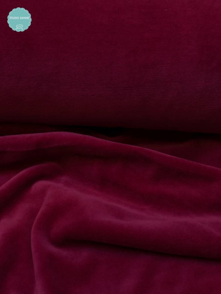 12€ p/m - Fuchsia - Nicky Velours
