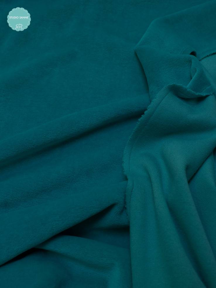 12€ p/m - Turquoise - Nicky Velours
