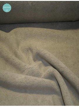 Studio Sanne Sweaterstof - Sherpa - Beige - 12,50 Euro Per Meter