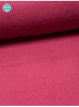 Studio Sanne Sweaterstof - Sherpa - Fuchsia - 12,50 Euro Per Meter