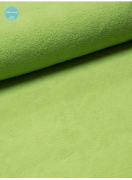 Sweaterstof - Sherpa - Groen - 12,50 Euro Per Meter