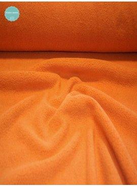Sweaterstof - Sherpa - Oranje- 12,50 Euro Per Meter
