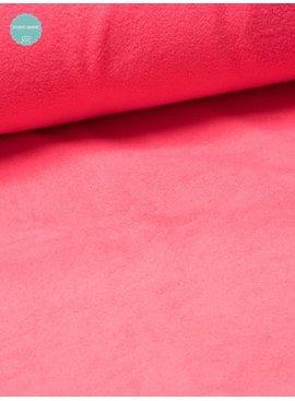 Sweaterstof - Sherpa - Roze- 12,50 Euro Per Meter