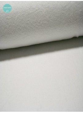 Studio Sanne Sweaterstof - Sherpa - Wit - 12,50 Euro Per Meter