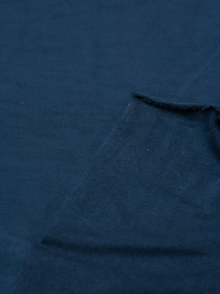 Polytex 1,30m x 140cm - Suede - Blauw
