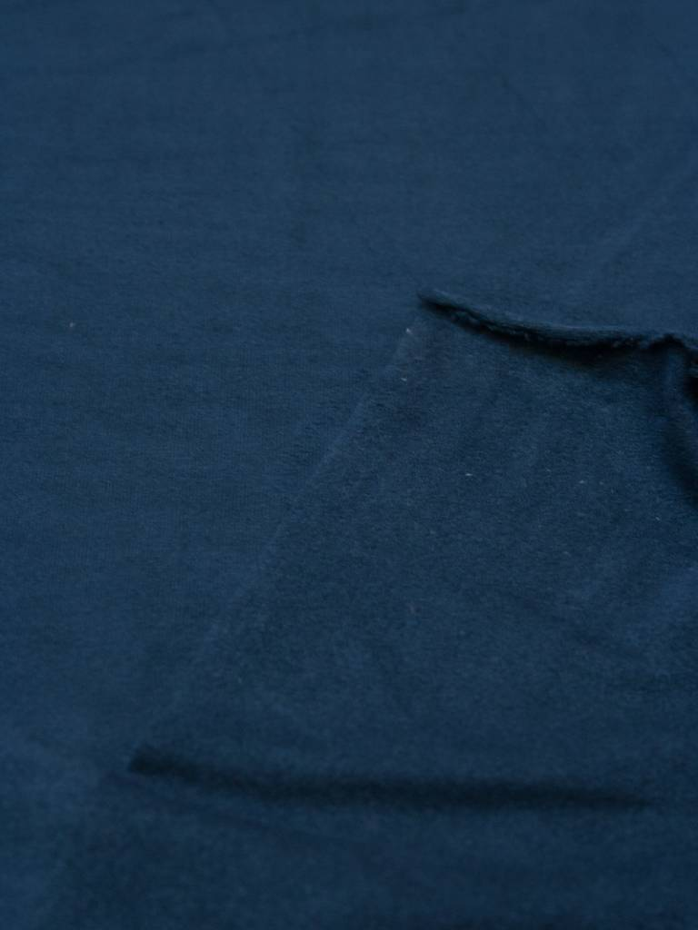 Polytex Suede - Blauw - 12,00 Euro Per Meter