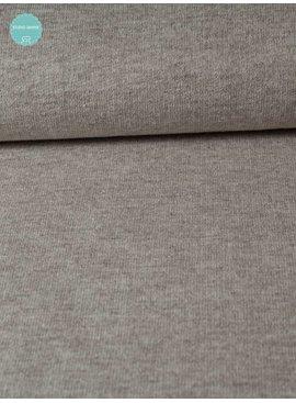 Sweaterstof - Beige Melange - 15,00 Euro Per Meter