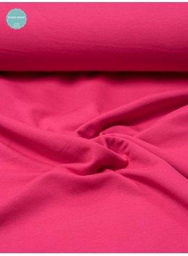 Sweaterstof - Fuchsia - 12,00 Euro Per Meter