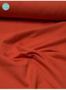12€ p/m - Oranje - Sweaterstof