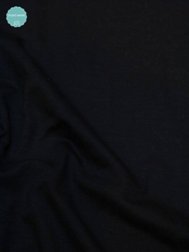 10€ p/m - Zwart - Tricot Effen