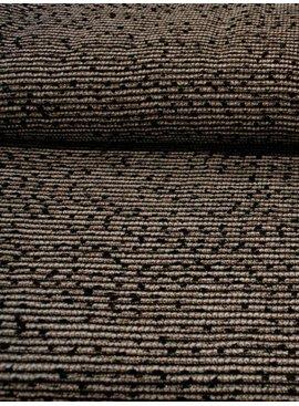 2,1m x 145cm - Zwart Wit Goud - Jacquard
