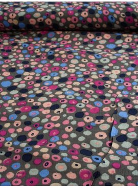 Nooteboom 1,5m op 1,5m - Colored Spots - Viscose
