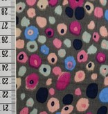 Nooteboom 1.35m op 1.5m - Colored Spots - Viscose