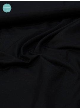 Elastische Voeringstof - Zwart - 8,80 Euro Per Meter