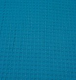 9€ p/m - Turquoise - Wafeldoek
