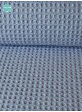 9€ p/m - Baby Blauw - Wafeldoek