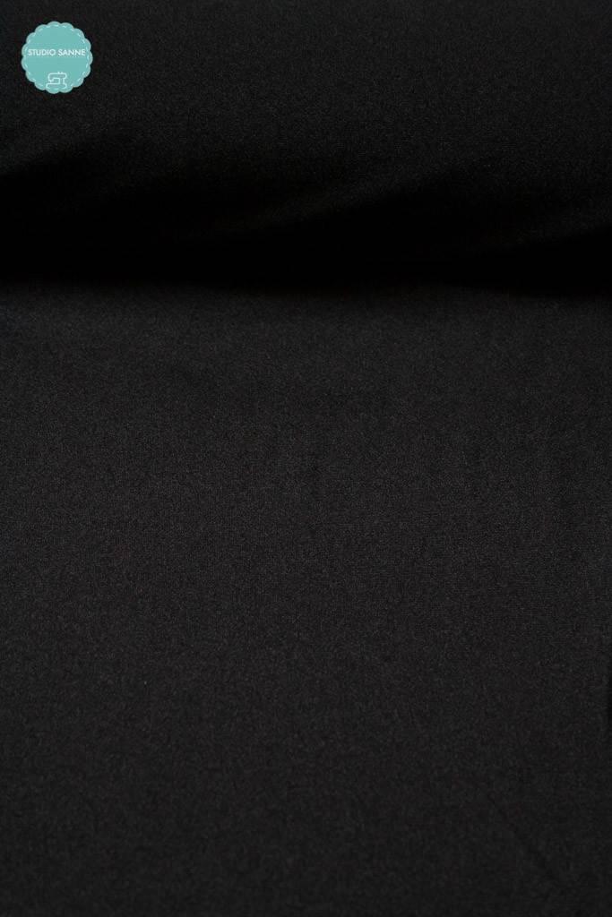 10 € Per Meter - Zwempakstof - Zwart