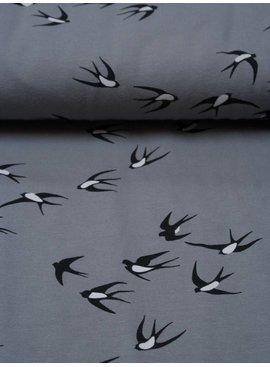 Polytex 1,1m op 1,5m - Grey Swallow