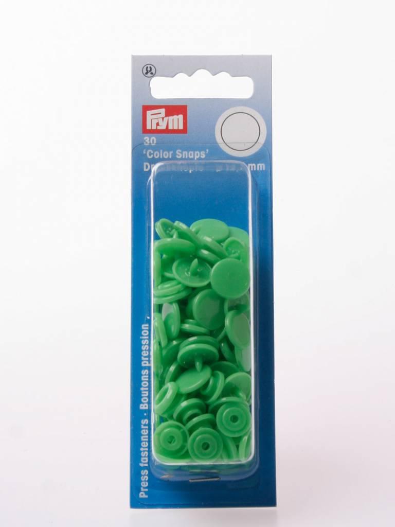 Prym Color Snaps - Licht Groen Rond