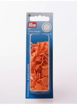 Prym Color Snaps - Oranje Rond