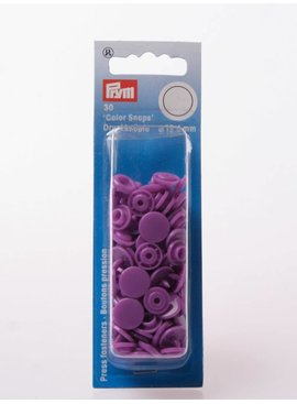 Prym Color Snaps - Paars Rond