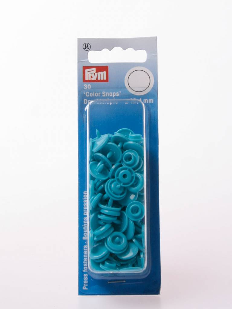 Prym Color Snaps - Turkoois Rond