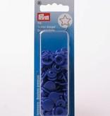 Prym Color Snaps - Blauw Sterretjes