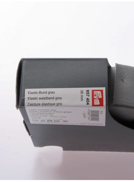 Prym Elastische Tailleband - Grijs - 2,70 Euro Per Meter