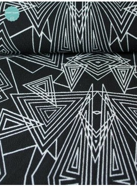 6,50€ p/m - Triangle Black - Crepe