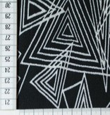 10€ p/m - Triangle Black - Crepe
