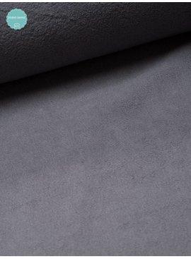 Studio Sanne Sweaterstof - Sherpa - Grijs - 12,50 Euro Per Meter