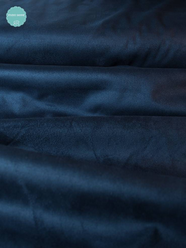 Suede - Blauw - 15,00 Euro Per Meter