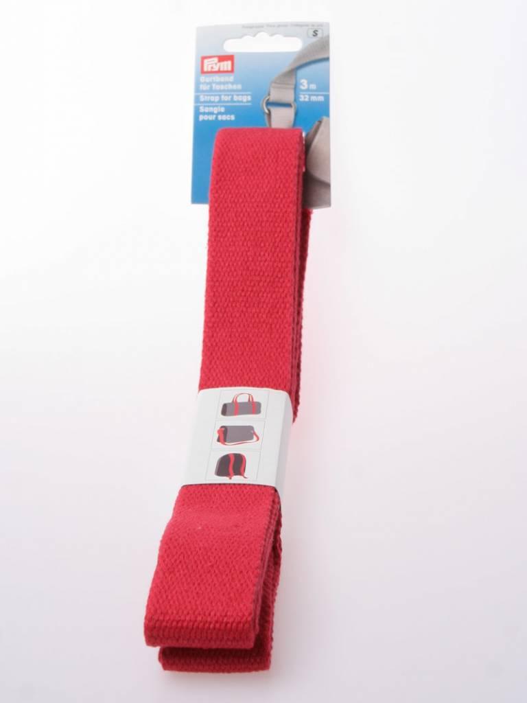 Prym Rood - Tassenband Katoen
