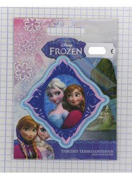 Opstrijk Applicatie - Frozen - Anna En Elza