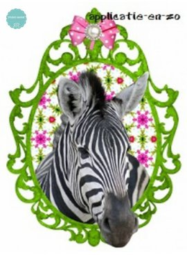 Studio Sanne Full Color Applicatie - Zebra