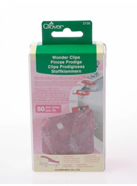 Clover Clover - Wonderclips Rood 50 St