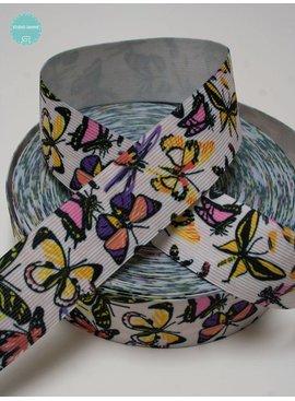 Vlinders Elastiek - 1,20 Euro Per Meter