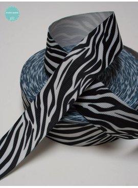 Zebra Elastiek - 1,20 € Per Meter