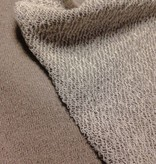 14€ p/m - Glitter Taupe - Sweaterstof
