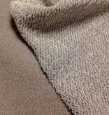 14€ Per Meter - Glitter Taupe - Sweaterstof