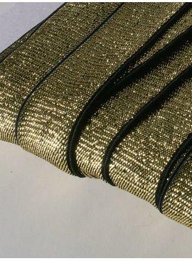 3,50€ p/m - Goud - Glitter Elastiek