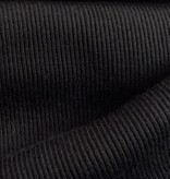 15€ p/m - Zwart - Rib Boordstof