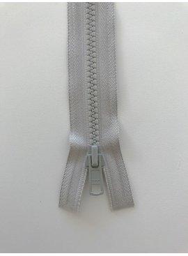 YKK Deelbare Bloktandrits - Licht Grijs 576 - 6 mm Breed