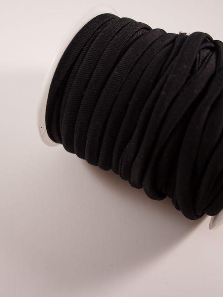 0,95€ p/m - Zwart 6mm - Spaghettiband