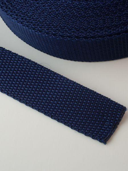0,90€ p/m - Tassenband Nylon Marine 25mm