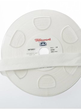 Fillawant 1€ p/m - Ecru - Jersey Biaisband